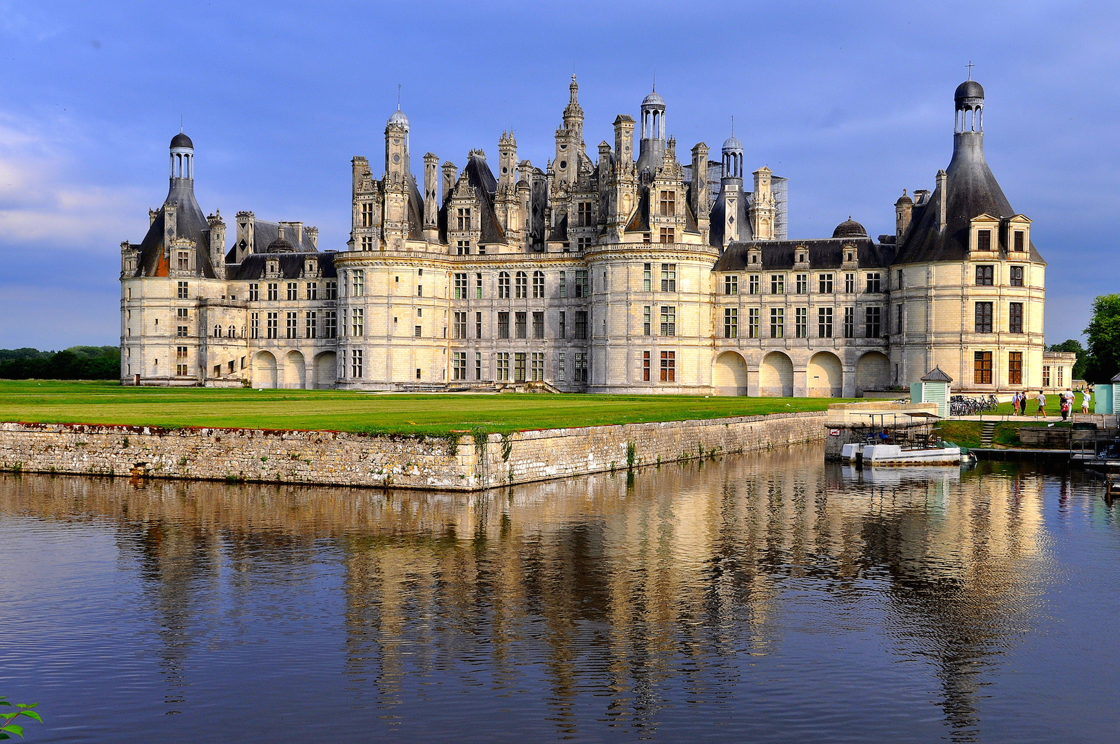 The worlds famous chateau
